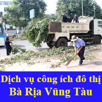Đơn giá công ích đô thị Bà Rịa Vũng Tàu