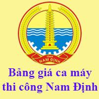 bảng giá ca máy tỉnh Nam Đinh
