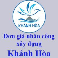 Đơn giá nhân công xây dựng tỉnh Khánh Hòa