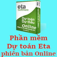 Phần mềm Dự toán Eta phiên bản Online