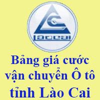 Bảng giá cước vận chuyển Ô tô tỉnh Lào Cai