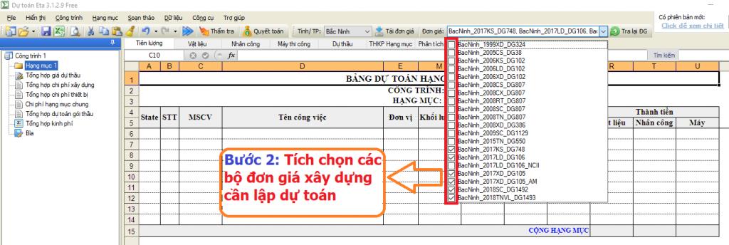 Hướng dẫn điều chỉnh dự toán tỉnh Bắc Ninh năm 2019