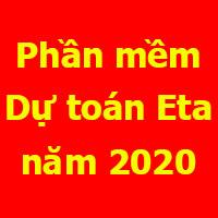 dự toán Eta 2020