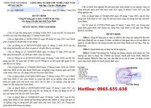 Bảng giá ca máy tỉnh Nam Định năm 2021