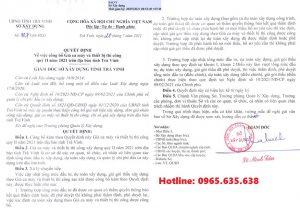 Quyết định 107/QĐ-SXD Bảng giá ca máy tỉnh Trà Vinh